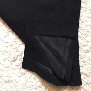 Radcliffe Petites Skirts - Radcliffe Petites Black Wool Pencil Skirt w/ Belt